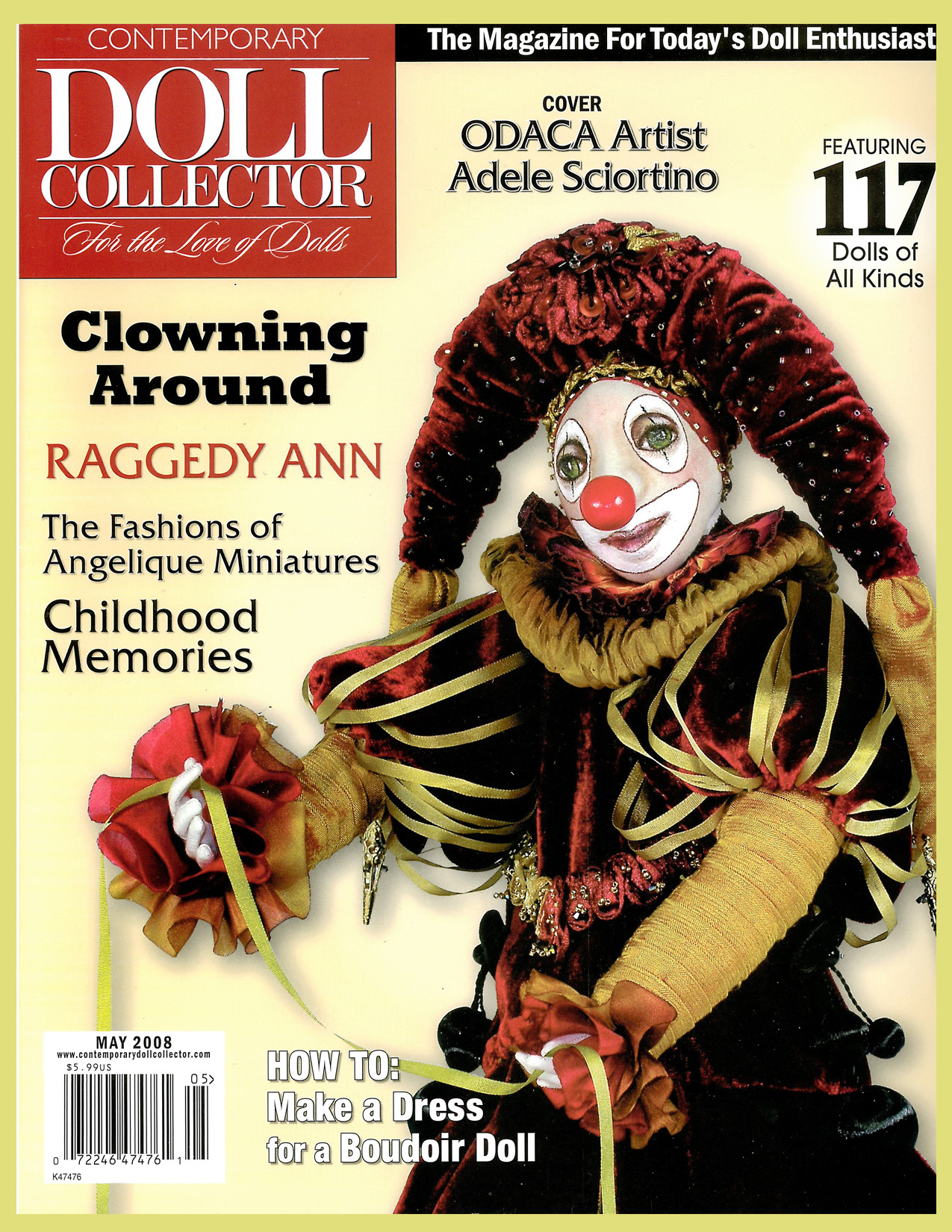 Contemporary Doll Collector ~ May 2008